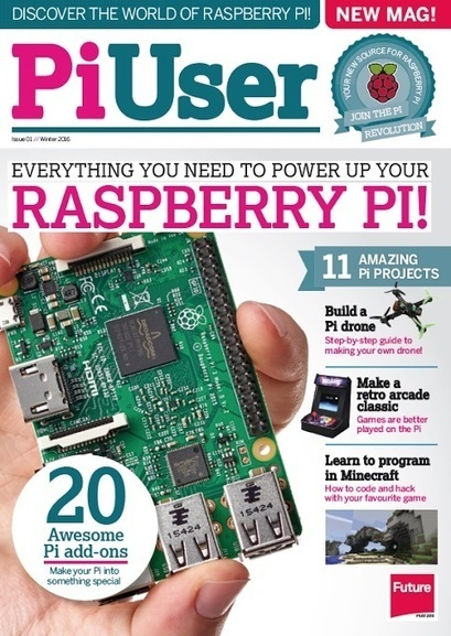 Les utilisateurs du Raspberry Pi ont désormais un magazine dédié : PiUser   Raspberry pi   Scoop.it