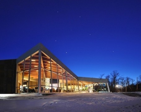 Connection to Site: Qualico Family Centre by TEN Architectural Group | sustainable architecture | Scoop.it