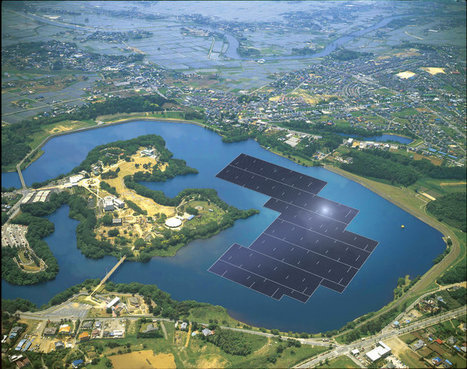 New Solar Plants Generate Floating Green Power   Creativity & Innovation  for success   Scoop.it