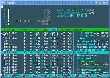 htop - an interactive process-viewer for Linux | Linux Formation | Scoop.it