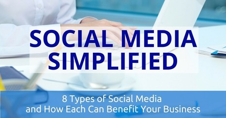 Social Media Simplified: 8 Types and How Each Can Benefit Your Business | Social Media Useful Info | Scoop.it