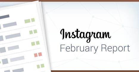 February Instagram Report | sabkarsocialmediaInfographics | Scoop.it