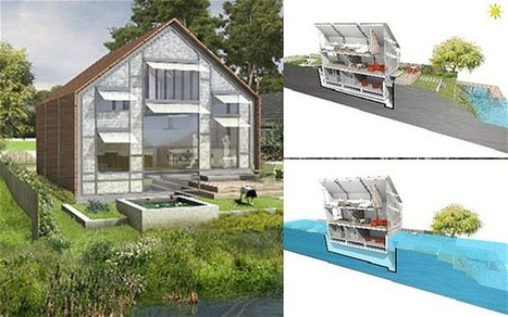Permission granted for Britain's first amphibious house on banks of Thames | D_sign | Scoop.it