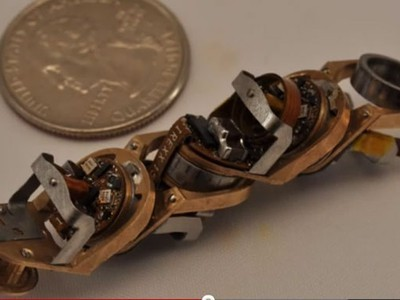 Shape-Shifting Robot Mimics Protein Molecules | Biomimicry | Scoop.it