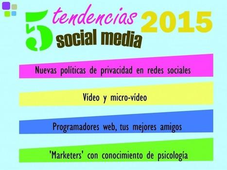 Últimas tendencias en Social media para 2015   REDES SOCIALES Y ENSEÑANZA DE LA MATEMÁTICA   Scoop.it