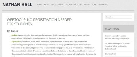 Webtools: No Registration Needed for Students | Education Technology - theory & practice | Scoop.it