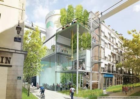 Quand Paris se réchauffe de 2°C | The Architecture of the City | Scoop.it