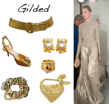 Gilded Glitz | Golden Pieces for  Summer Sun | Spotlight | New York Boutiques | Scoop.it