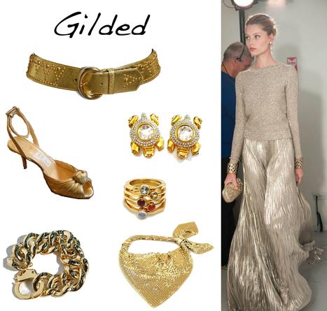 Gilded Glitz | Golden Pieces for  Summer Sun | Spotlight | New York Boutiques | Scoop.it