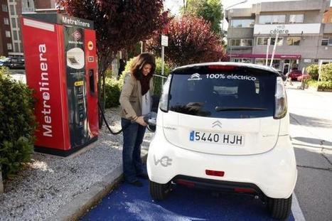 Si el metro frena, piensa que un coche eléctrico se está recargando gratis | Piensa en sostenibilidad, piensa en EV | Scoop.it