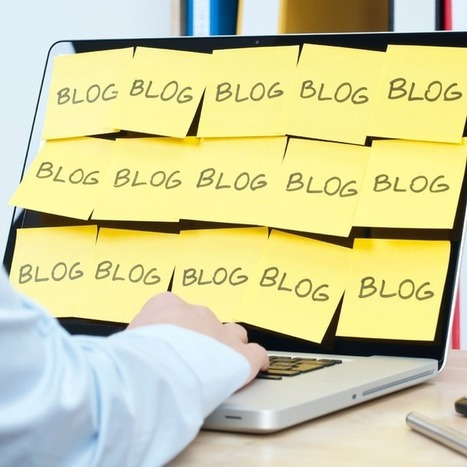 Why You Should Blog to Get Your Next Job   Good Advice   Scoop.it