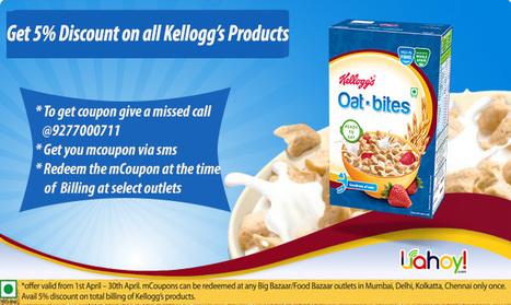 Kellogg's Discount Offer | Aman Agarwal | Scoop.it