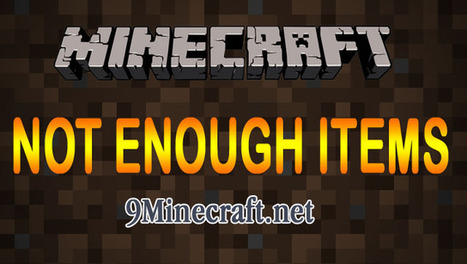 [1.6.4] Not Enough Items Mod | Minecraft 1.6.4 Mods | Scoop.it