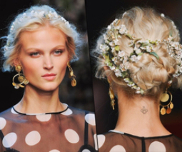How to get Dolce & Gabbana's divine flower crowned up do | Fashion Interests | Scoop.it