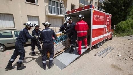 Les pompiers genevois se forment à Annecy - Tribune de Genève | #emploi #travail #geneve #suisse | Scoop.it