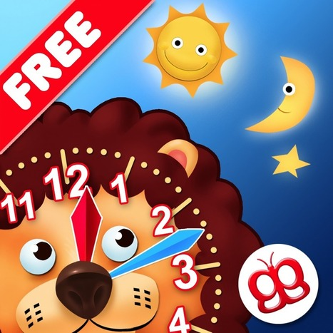 Interactive Telling Time Lite - Learning to tell time is fun | STEAM iPad Apps | Scoop.it