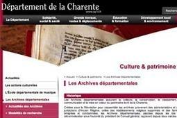 GénéInfos: Dernière ligne droite pour l'état civil de Charente en ligne...   GenealoNet   Scoop.it
