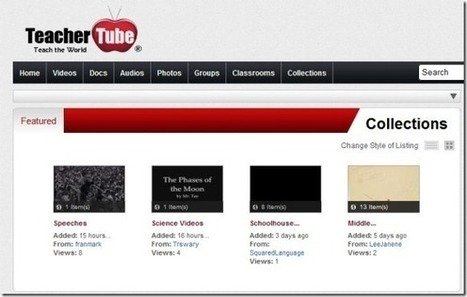 Teacher Tube Provides Free Access To Educational Videos and Documents | PowerPoint Presentation | School technology | Scoop.it