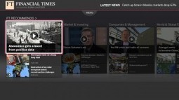 Financial Times launches Samsung Smart TV app | Talking Biz News | TV 3.0 | Scoop.it