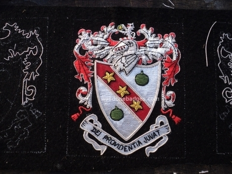 Embroidery Coats of Arms /Family Crests Heritage Blazer Patch crest | Well Done Badges Co | Scoop.it