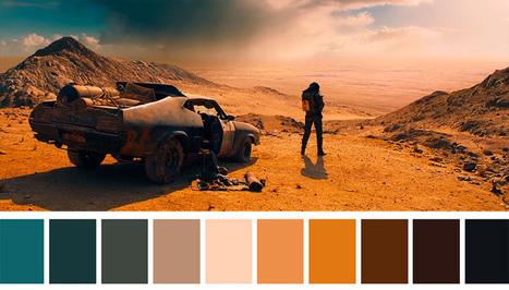 Cinema Palettes comparte las paletas de color de pelis icónicas | El Mundo del Diseño Gráfico | Scoop.it