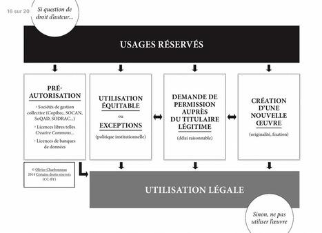 Notes concernant les questions de droit d'auteur enservices d'archive et en bibliothèque | La didactique au collégial | Scoop.it