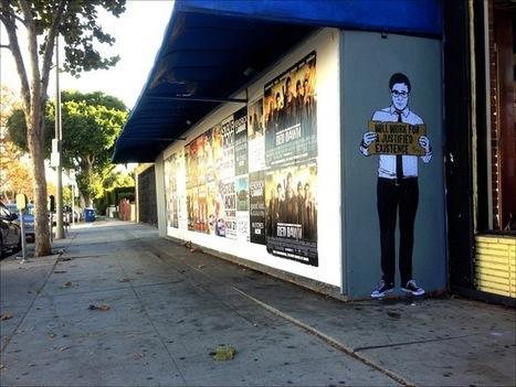 Morley Street Art On Jobs - Neatorama | Street Protest Art | Scoop.it