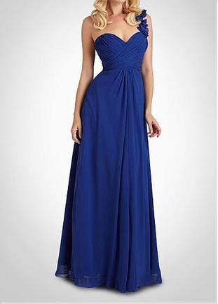 [103.18] Stunning Chiffon A-line One Shoulder  Bridesmaid Dress - Dressilyme.com | braidsmaid dresses | Scoop.it