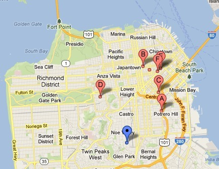 My Map of SF Homeless Shelters | Homelessness D Period | Scoop.it