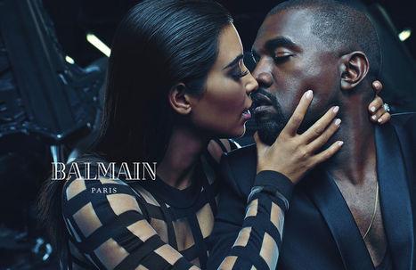 Kim Kardashian and Kanye West - Balmain Ad for Spring 2015 | Best Fashion Week | Scoop.it