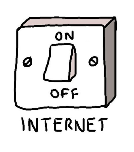 Internet on and off switch | Art | Scoop.it