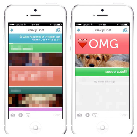 Ephemeral Messaging App Frankly Updated To Give Users More Control Over ... - TechCrunch | iPhones and iThings | Scoop.it
