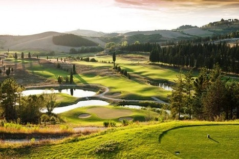 A golf postcard from Castelfalfi, Tuscany | Golf in Italy | Scoop.it