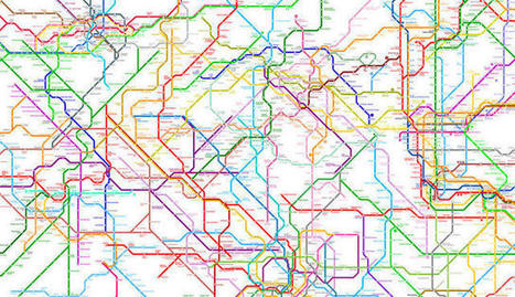 Fun Maps: World Wide Metro Map UNITES ALL  214 Subway Systems Around the World on a Single Map | Machines Pensantes | Scoop.it