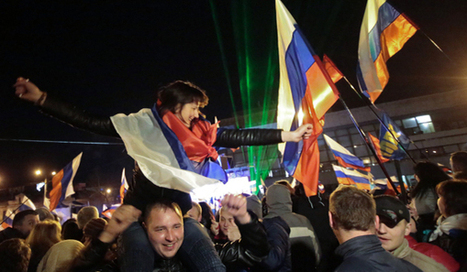 """Crimea re-joins Russia after US/Nazi coup in Ukraine 