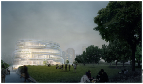 nArchitects Wins Shanghai Competition with Home-Inspired Library | innovative libraries | Scoop.it