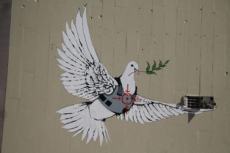 rhe309  Rhetorical Analysis 2 - Ayub | Banksy - Street Artist | Scoop.it
