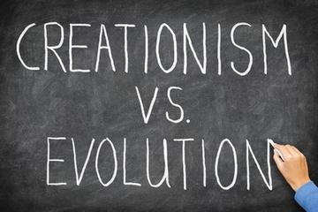 Creationism-vs.-Evolution.jpg (424x283 pixels) | Conflict | Scoop.it