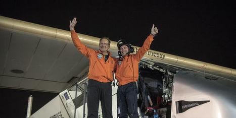 L'avion solaire Solar Impulse 2 boucle le premier tour du monde aérien sans carburant   ICARE BATIMENTS INTELLIGENTS   Scoop.it