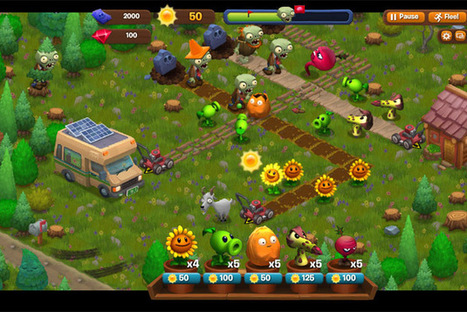 Are YOU A Plant or a Zombie? 2 New Plants vs. Zombies Games Announced | Contests and Games Revolution | Scoop.it