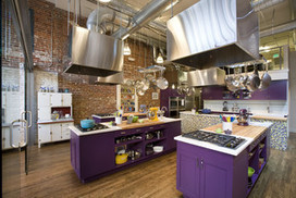 Stir Cooking School - eclectic - kitchen - denver - by Momoko Morton | Interior Design from St. Catherine University | Scoop.it