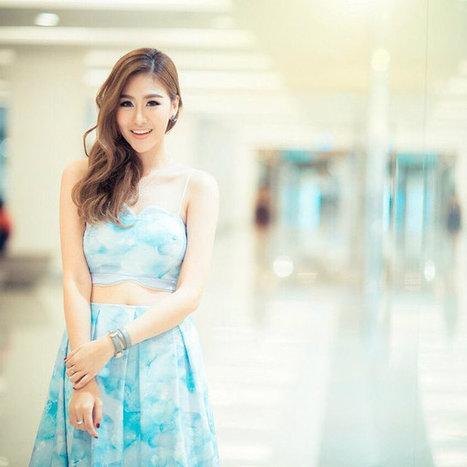 น่ารักอ่ะ! แพทตี้ พิมพาภรณ์ น้องใหม่ช่อง 7 | fashion in Thailand | Scoop.it