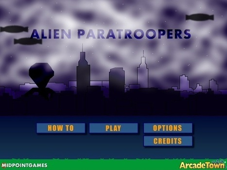 Alien Paratroopers | Free Games that Pay You | Scoop.it