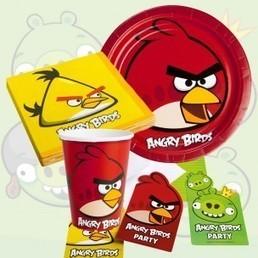 Kit anniversaire Angry Birds, idéal pour anniversaire fille ou garçon | Easy Anniv | Scoop.it