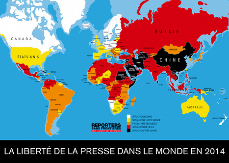 La liberté de la presse recule même en démocratie | La-Croix.com | Intervalles | Scoop.it