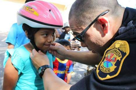 Clearwater Police Stress Bicycle Safety to Youngsters - Clearwater Gazette | financial services | Scoop.it