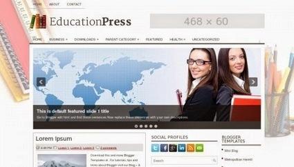 EducationPress- Plantilla para Blogger | EDUCACIÓN en Puerto TIC | Scoop.it