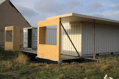 Cappellebrouck: construire sa maison sur des containers, un avantage économique, écologique et esthétique ! | Immobilier en France | Scoop.it