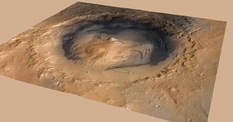 Le robot Curiosity est bien arrivé sur Mars   Actualités robots et humanoïdes   Scoop.it