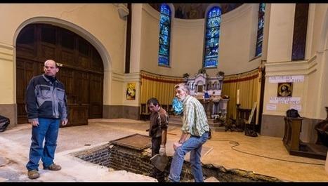 Auchy-les-Mines : le sol de l'église s'est effondré | L'observateur du patrimoine | Scoop.it